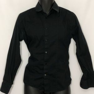 GUESS button down long sleeve casual office shirt